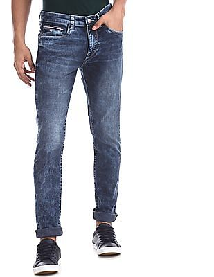 U.S. Polo Assn. Denim Co. Blue Regallo Skinny Fit Washed Jeans