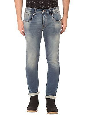 Ed Hardy Slim Fit Stone Wash Jeans
