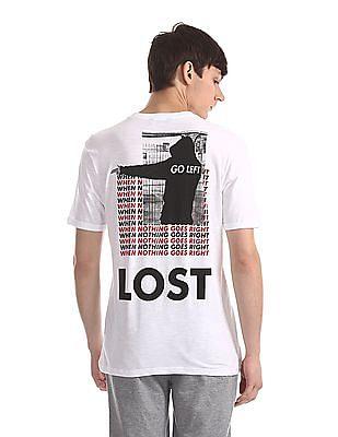 Colt White Crew Neck Graphic T-Shirt