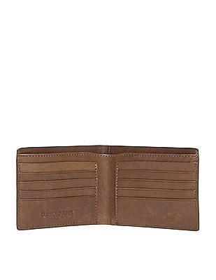 U.S. Polo Assn. Debossed Leather Wallet