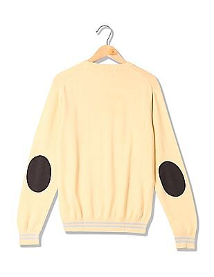 U.S. Polo Assn. Denim Co. Crew Neck Long Sleeves Sweater