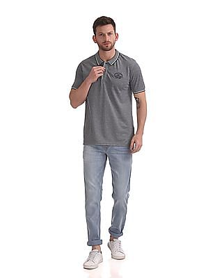 Flying Machine Jackson Skinny Fit Stone Wash Jeans
