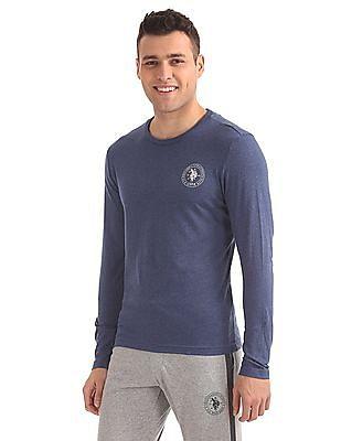 USPA Innerwear Regular Fit Full Sleeve T-Shirt
