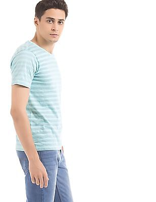 Colt Reverse Striped Slim Fit T-Shirt