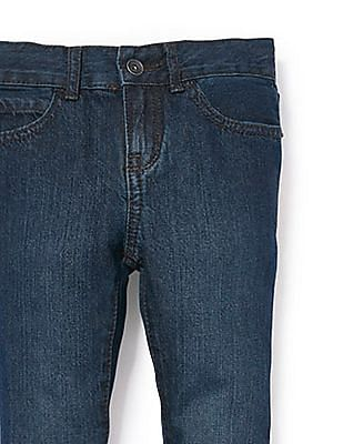 The Children's Place Boys Basic Skinny Jeans - Deep Blue Wash
