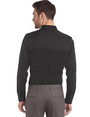 True Blue Slim Fit Concealed Placket Shirt