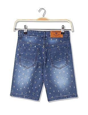 Cherokee Boys Slim Fit Denim Shorts