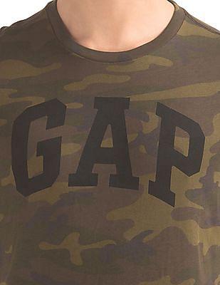 GAP Camo Logo Tee
