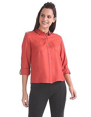 SUGR Long Sleeve Woven Shirt