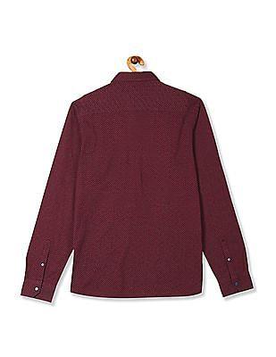 Arrow Newyork Printed Knit Shirt