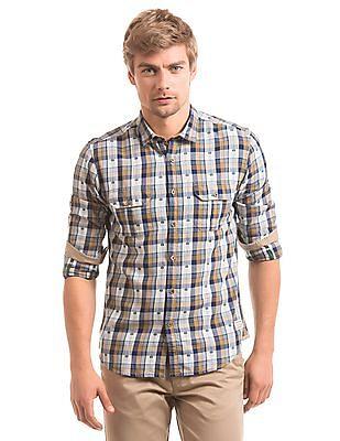 Ed Hardy Dobby Weave Slim Fit Shirt