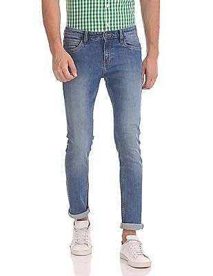 Arrow Sports James Slim Fit Stone Wash Jeans