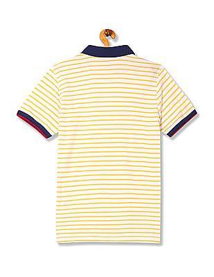 Izod Slim Fit Stripe Polo Shirt