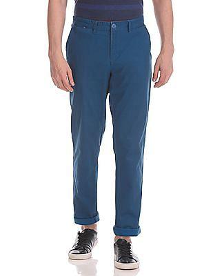 Ruggers Urban Slim Fit Printed Trousers