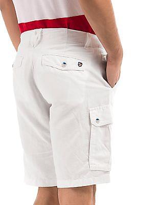 U.S. Polo Assn. Linen Cargo Shorts
