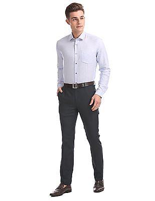 Arrow Newyork Super Slim Fit Low Rise Trousers