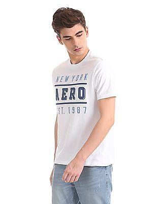 Aeropostale Regular Fit Brand Applique T-Shirt