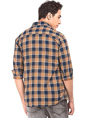 Flying Machine Button Down Check Shirt