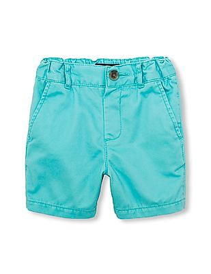 The Children's Place Toddler Boy Solid Woven Chino Shorts