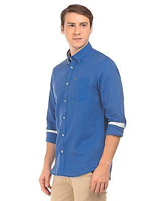 Arrow Sports Slim Fit UV Finish Shirt
