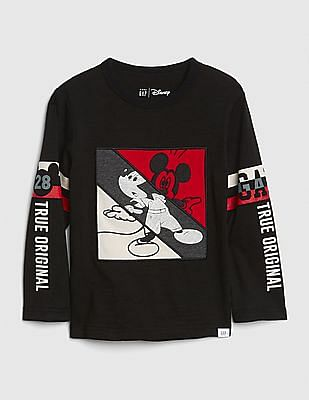 GAP Baby Disney Mickey Mouse Logo T-Shirt