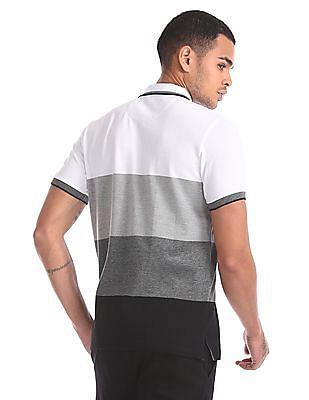 Ruf & Tuf Regular Fit Striped Polo Shirt