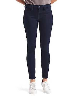 GAP Women Blue Mid Rise Legging Jeans