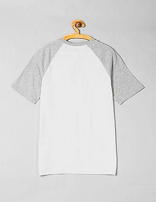 GAP Boys Colorblock Henley T-Shirt