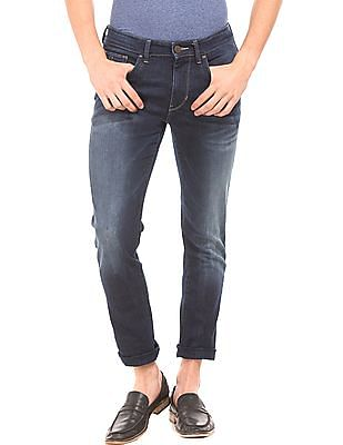 U.S. Polo Assn. Denim Co. Whiskered Slim Fit Jeans