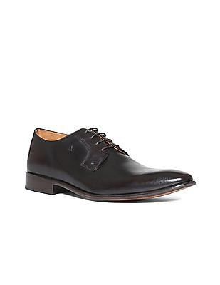 Arrow Solid Derby Shoes
