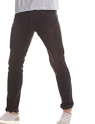 Cherokee Brown Slim Fit Low Rise Jeans