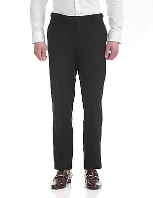 USPA Tailored Tailored Fit Flat Front Trousers