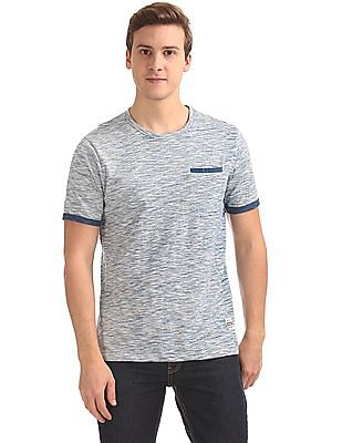 Cherokee Heathered Slim Fit T-Shirt