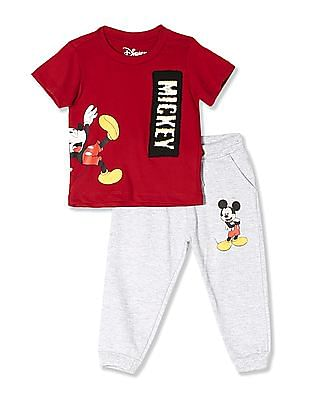 Colt Assorted Boys Mickey Mouse Graphic T-Shirt And Joggers Set