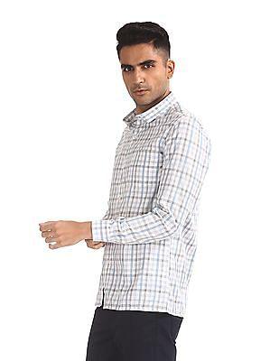 Excalibur Semi Cutaway Collar Checked Shirt - Pack Of 2