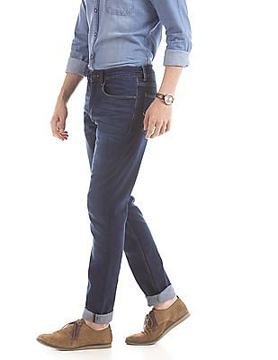U.S. Polo Assn. Denim Co. Stone Washed Slim Tapered Fit Jeans