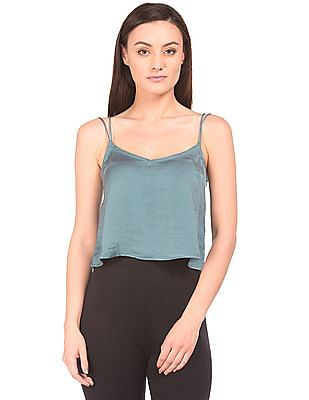 Aeropostale Scoop Neck Cropped Camisole