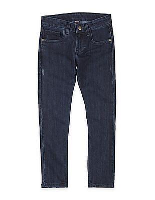 FM Boys Boys Skinny Fit Distressed Jeans