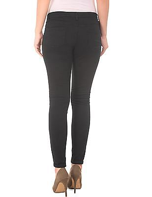 Cherokee Solid Flat Front Trousers
