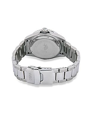 U.S. Polo Assn. Stainless Steel Strap Analogue Watch