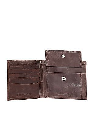Flying Machine Denim Panel Bi-Fold Wallet
