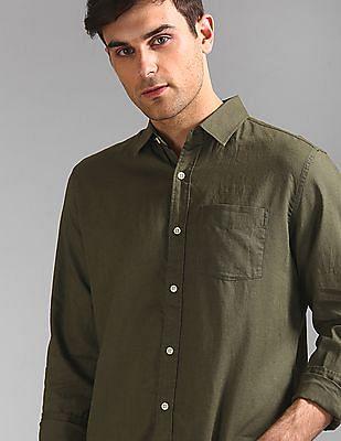 GAP Long Sleeve Linen Shirt