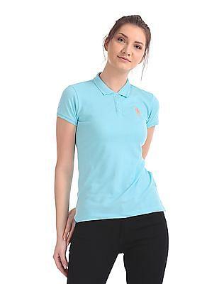 c363280c Buy Womens UWTS0960 Aruba Blue Womens T-Shirt online at NNNOW.com