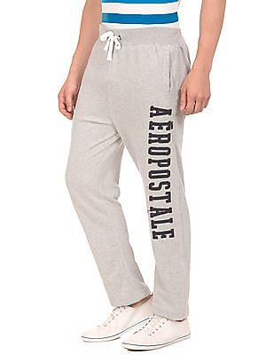 Aeropostale Brand Applique Knit Track Pants