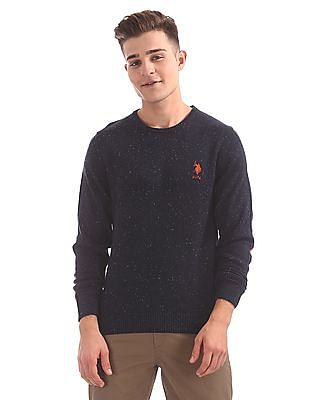 U.S. Polo Assn. Denim Co. Long Sleeve Crew Neck Sweater