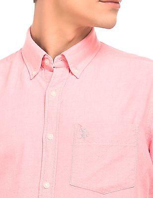 U.S. Polo Assn. Short Sleeve Oxford Shirt
