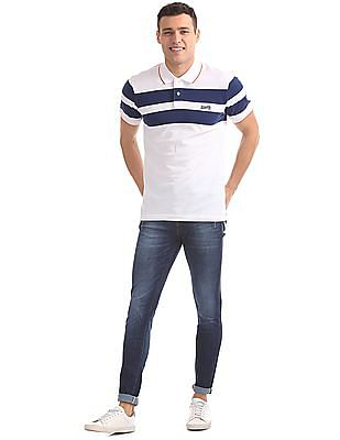Aeropostale Regular Fit Short Sleeve Polo Shirt