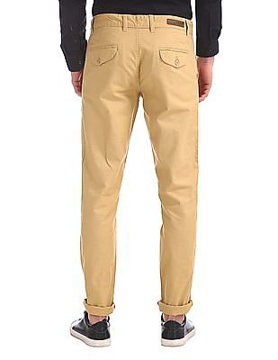 Ruggers Modern Slim Fit Flat Front Trousers