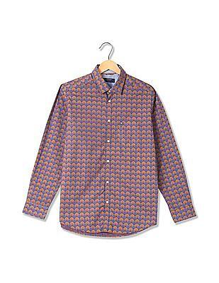 Arrow Sports Manhattan Fit Printed Shirt