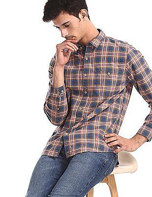 Cherokee Multi Colour Check Twill Shirt
